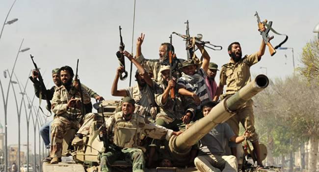 Союзники Путина в Ливии струсили и сдали в ужасе без боя ключевую позицию. Убежали, оставив даже «Грады»
