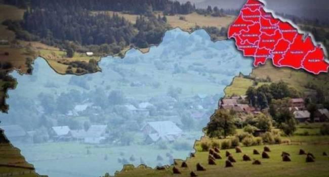 Политолог: в Украине минимум три области могут стать очагами сепаратизма