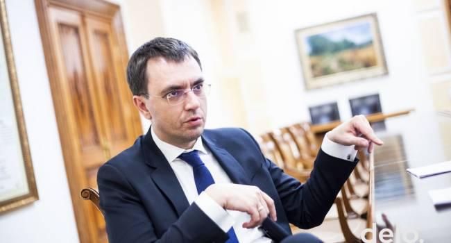 Владимир Омелян: после интервью Зеленского сделал главный вывод – он действительно слабый президент, но далеко не идиот