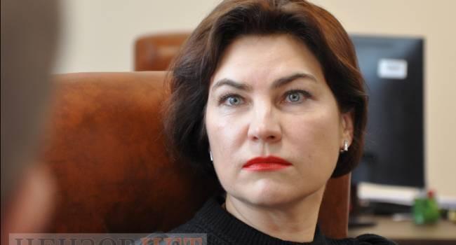 Политолог: Рябошапка вовремя спрыгнул, а Венедиктова уже заработала себе на срок