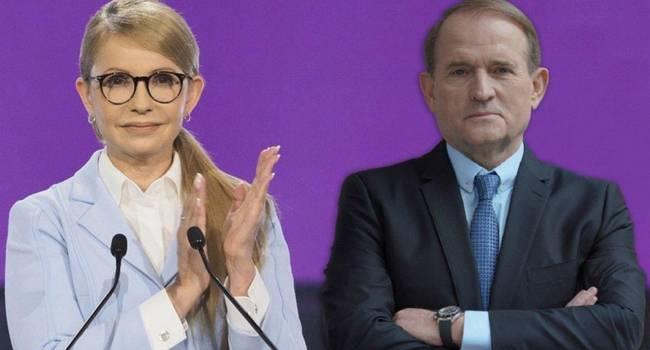 Тимошенко и Медведчук совместными усилиями пытаются снова посадить Украину на российскую газовую иглу - мнение