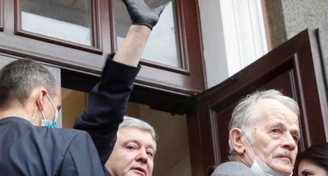 Телеведущая: с Порошенко хотят провернуть тот же номер, что и с волонтерами по делу Шеремета
