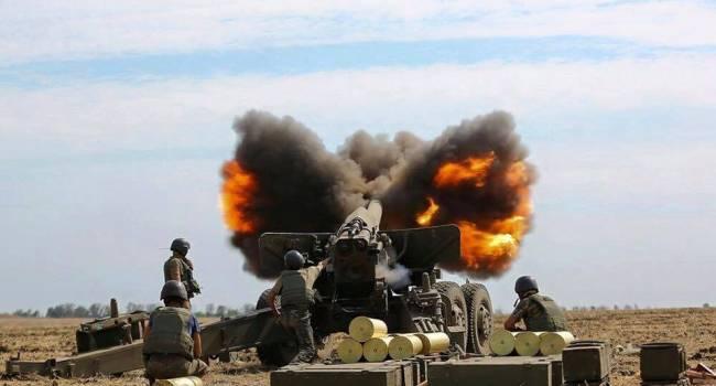 Войска РФ накрыли артиллерией позиции ВСУ на Донбассе, есть потери