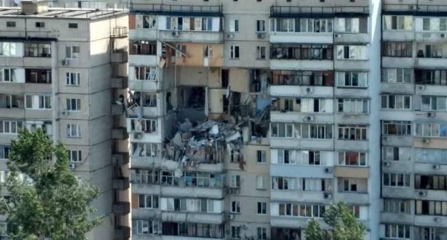 Взрыв в жилдоме Киева: Полиция начала уголовное дело