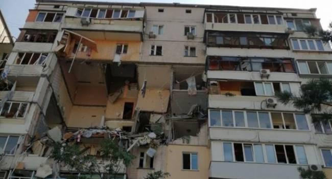 «Впечатление, будто президента в стране нет»: политолог раскритиковал отсутствие реакции Зеленского на взрыв многоэтажки в Киеве