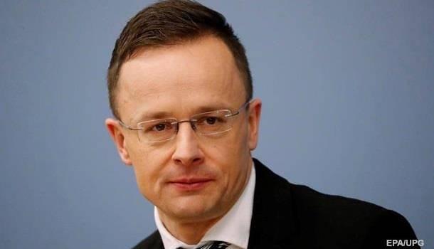 На этой неделе Украину посетит глава МИД Венгрии Петер Сийярто