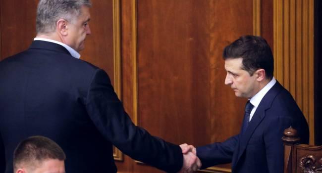 Политолог: Зеленский вместо того, чтобы направлять моновласть на реализацию задач, гоняется за Порошенко