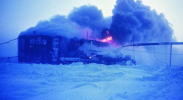 Российская станция Мирный горит огнем: В Антарктиде произошло громкое ЧП