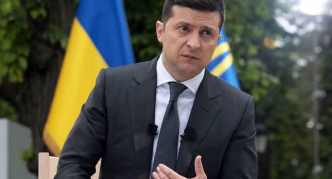 Саакашвили: Если Зеленский уйдет раньше срока с должности президента, то это может привести к распаду Украины