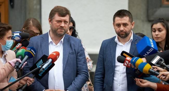 «Корабельная сосна» «Слуги народа»: Корниенко и Арахамия вляпались в сексуальный скандал
