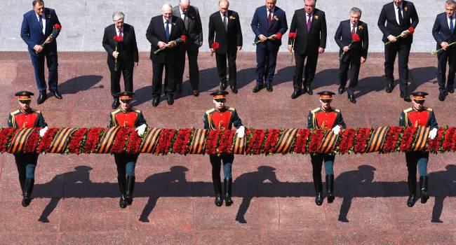 Ни один лидер ЕС не уважил Путина, на парад к 75-ю Победы прибыли только некоторые главы постсоветских республик