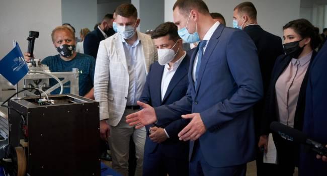 Блогер: самое время узнать у сторонников Зеленского, как им новый министр образования, пойманный на плагиате?