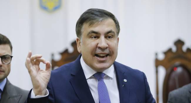 Саакашвили в очередной раз доказал, что готов и дальше работать пиарщиком у Зеленского