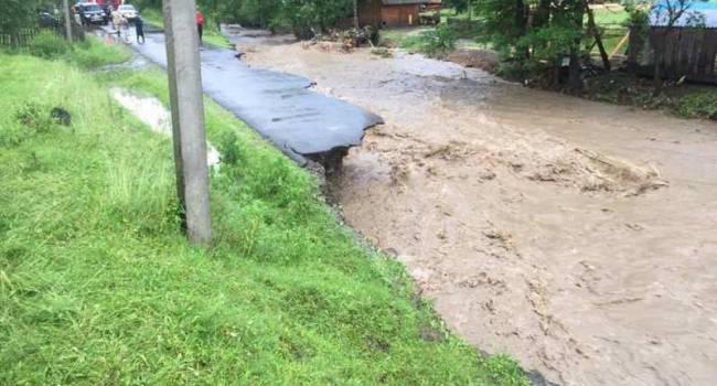 Власти Италии выделили гуманитарную помощь для борьбы с последствиями наводнений на западе Украины