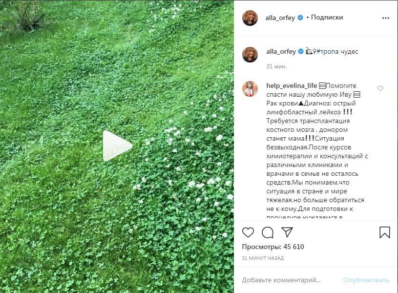 «Так и должна чувствовать себя счастливая женщина»: Алла Пугачева показала волшебную дорожку в своем саду, поклонники в восторге