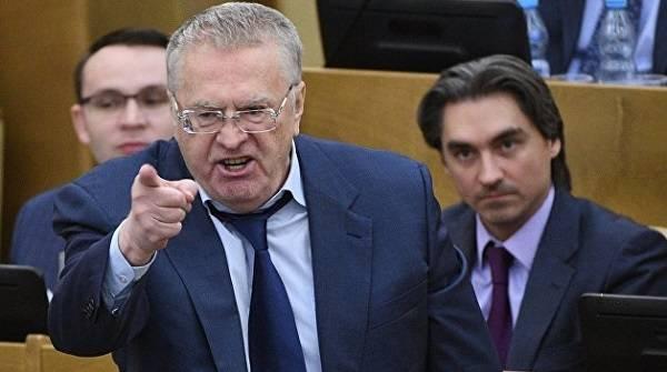 Журналист Гордон взял интервью у опального Жириновского, однако не осмелился его опубликовать