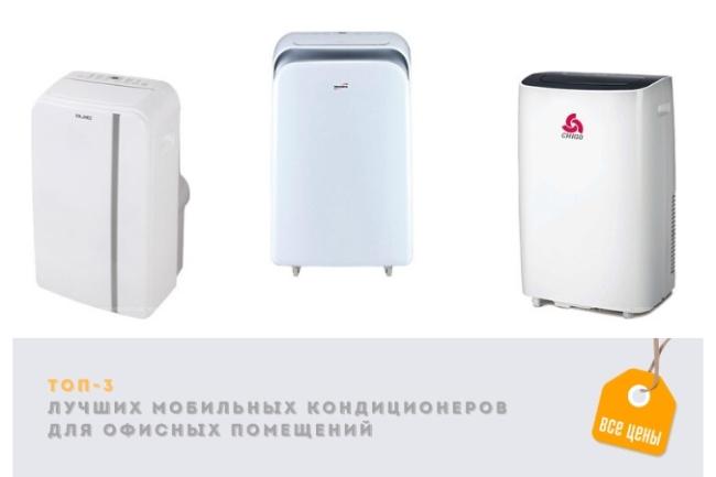 ТОП-3 лучших мобильных кондиционеров для офисных помещений