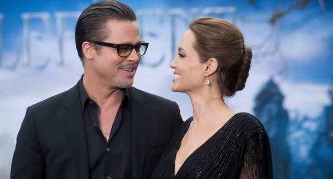 «Предпочитали не видеться»: впервые почти за 4 года Брэд Питт приехал к Анджелине Джоли