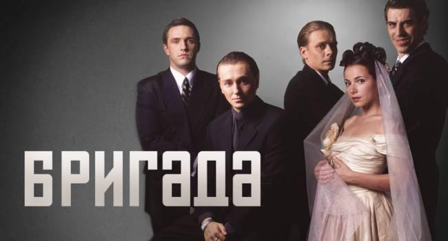 Сергей Бузруков показала ранее неизвестные фотографии, которые были сделаны во время съемок сериала «Бригада»