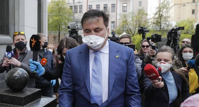 Политтехнолог: вчера был самый неудачный день в карьере Михаила Саакашвили