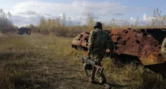 В пресс-центре штаба рассказали о сильных атаках боевиков на Донбассе