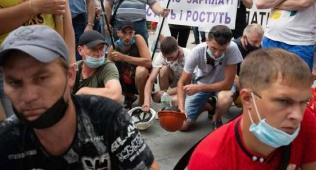 Блогер: победили ненавистный «Роттердам+», теперь шахтеры разворачивают палатки на Банковой
