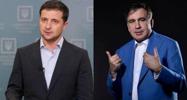 Зеленский не ск*рвился, и действительно хочет изменений - Саакашвили