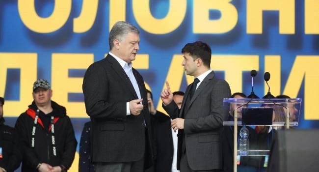 Головачев: Зеленский зря обвинял Порошенко в сознательном разжигании пожара войны. С его стороны это было подло