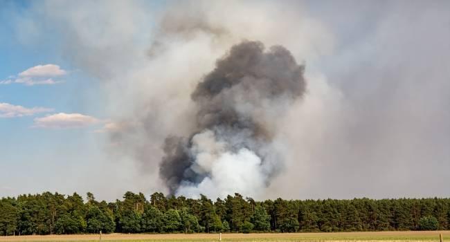 Зеленский провел экстренное совещание из-за пожара в Луганской области