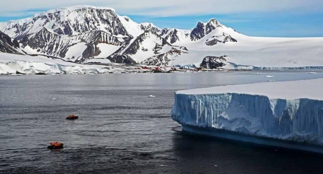 Еще один рекорд: Южный полюс стремительно тает