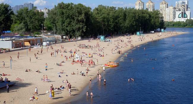 Поспешите искупаться: специалисты предупредили об ухудшении качества воды в Днепре