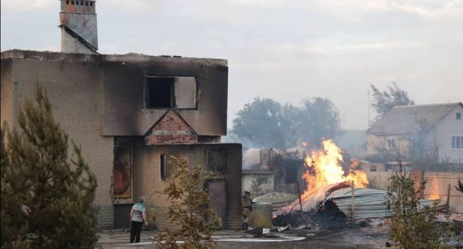 «Кто-то об этом слышал? Это же Донбасс»: общественник рассказал о сильнейших лесных пожарах в Луганской области