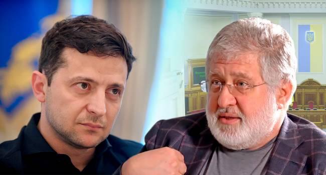 Президента Зеленского «сделал» Коломойский, и теперь он хочет получать с этого дивиденды - Москаль