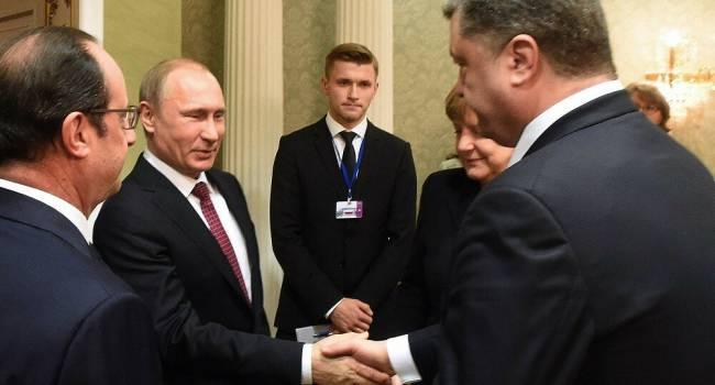 «Двуличная мр*зь с руками по локоть в крови»: блогер рассказал, как смеялся с аудиозаписи переговоров Путина и Порошенко