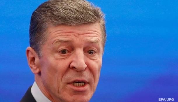 Козак считает, что Украина прекратила участие в Минских договоренностях: Москва заявила о новых документах