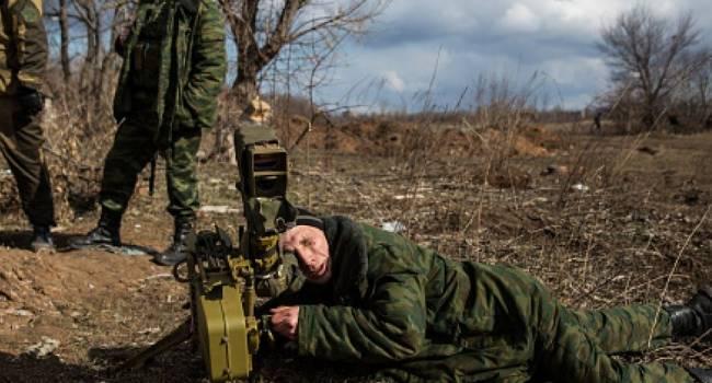 «Слава Украине!»: Волонтер показал, как на Донбассе позиция боевиков взлетела в воздух