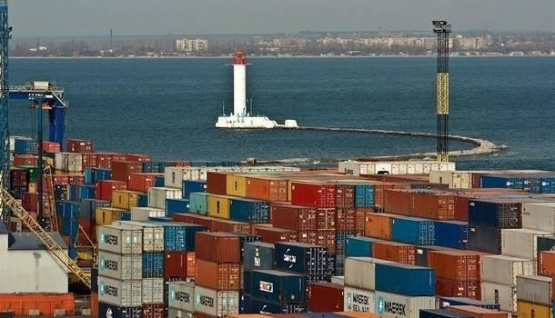 Объем внешней торговли Украины упал на 9 процентов