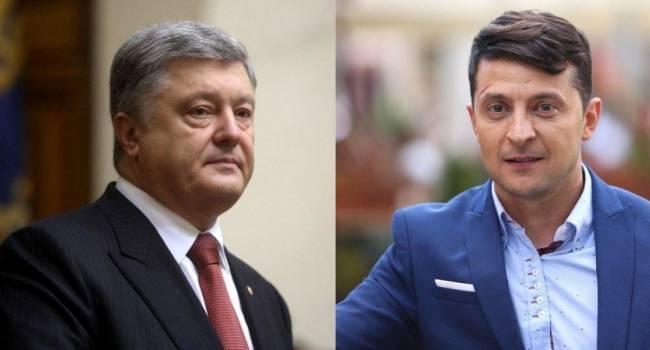 Политолог: такое впечатление, что Зеленский сознательно все делает для того, чтобы рейтинг Порошенко продолжал расти