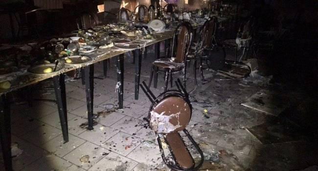 Полтава содрогнулась от взрывов: Неизвестные пытались взорвать кафе