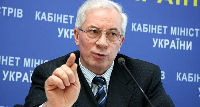Один – мародер, второй – вообще простак: Азаров заявил, что ни Порошенко, ни Зеленский не подходят Украине, как президенты