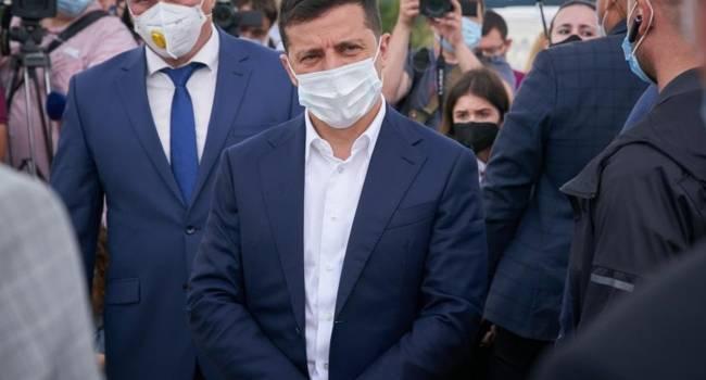Главный вывод после визита Зеленского на Волынь заключается в том, что президент устал, сломался и сгорел - мнение
