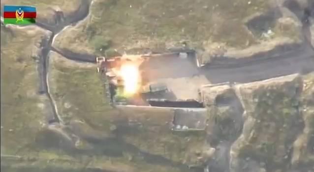 Кадры смерти: Минобороны Азербайджана показало фрагменты боевых действий на границе с Арменией