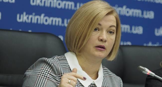 Геращенко: Попросим министра обороны рассказать, кто теперь мешает «просто перестать стрелять», и почему на Донбассе по-прежнему гибнут украинские военные