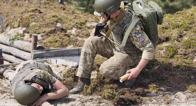 Боевики убили военного медика ВСУ на Донбассе