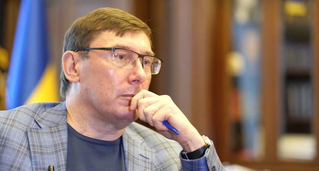 Луценко: от плана Ермака с посадкой Порошенко на Банковой никто пока не отказался