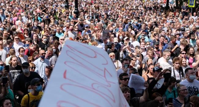 Портников: Протесты и кризис в России всегда начинались с Дальнего Востока