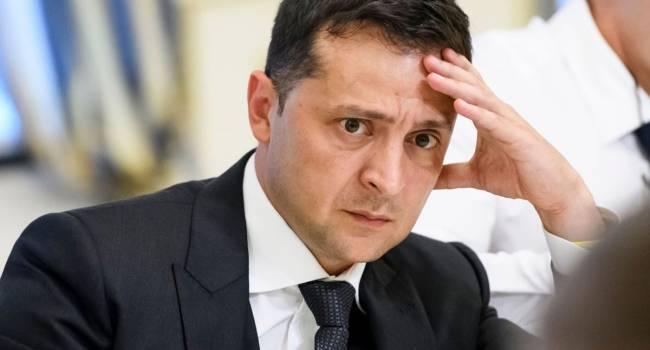 Зеленский понимает, что должность главы государства для него великовата, и он боится наводить порядок в стране - мнение