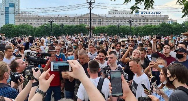 Блогер: Интересные времена наступают в России - градус готовности к протестам в российском обществе повышается