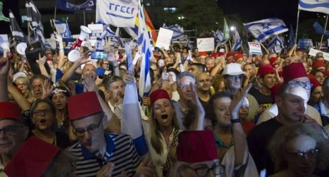 «Армагеддон в Иерусалиме»: На улицы города вышли тысячи обозленных людей, протестующих против политики правительства