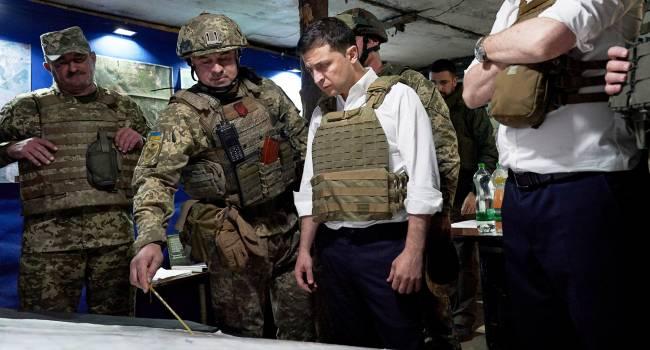 Черненко: Лучшей реакцией президента был бы приказ на точечное уничтожение противника, но мы же не Израиль, поэтому будем и дальше разводить войска